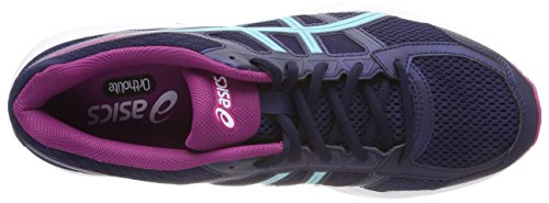Asics Damen Gel-Contend 4 Laufschuhe Blau (Peacoat/porcelain Blue/fuchsia Red 5814)