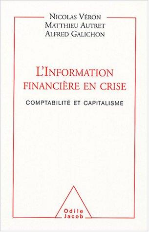 L'Information financière en crise : Comptabilité et Capitalisme