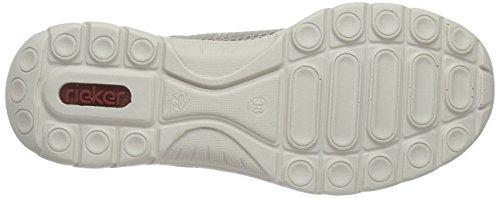 Rieker L3237 Women Low-top Damen Sneakers Grau (elefant/frost/ice / 42)