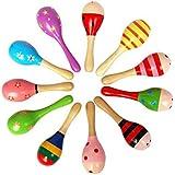 2 piezas Bebé Traqueteos Coloridos Sonajeros Juguetes Educativos Para Niños (2)