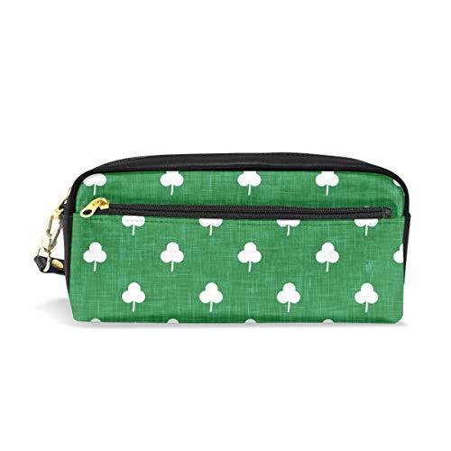 che Shamrock On Green_3218 Kosmetiktaschen Federmäppchen Portable Travel Makeup Organizer Multifunktions-Tasche Taschen für Frauen ()