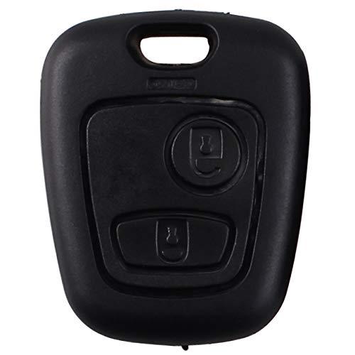 Guscio di ricambio per chiave dell'auto, con 2pulsanti, chiave grezza NE78