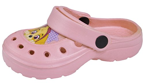 Paw Patrol Clogs Boys Chase Marshall Beach Sandals Flat Shoes Mules Kids Size UK 7-13