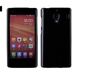 Kapa Glossy TPU Soft Flexible Protective Back Case Cover For Xiaomi Redmi 1S - Black