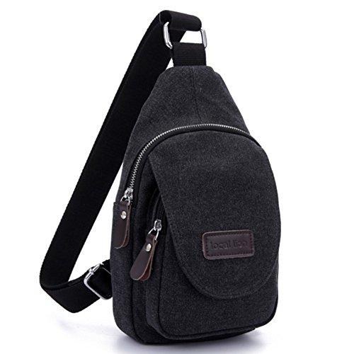 Adatti il pacchetto M/pacco petto/pacchetto tempo libero/Messenger Bag/borsa di tela/Borsa Sport all'aria aperta/borsa di tela-E