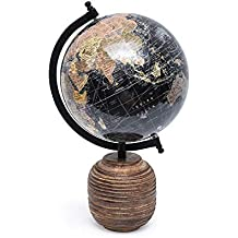Casa Decor Earthen Cup Globe World Globe Home Decor Office Decor Gift Item