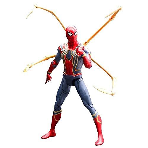 MODELSS Avengers Iron Man Actionfigur, Ganzkörper-Gelenkaktivität - 6 Zoll, Modell Toy Boy
