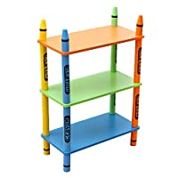 Crayon 3 Tier Childrens Shelving Unit