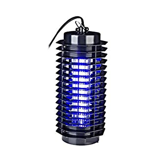 HomeZone® 4w Electronic UV Flying Insect Killer Electric Indoor Mosquito Pest Fly Bug Zapper.