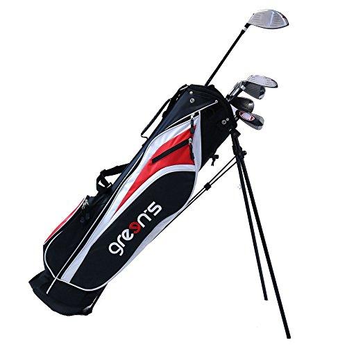 Green's GRE-K1/2SG NRR Kit débutant de Golf Mixte Adulte, Noir/Rouge