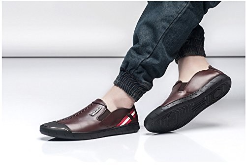 WTUS Docksides, Loisirs Angleterre Chaussures Bateau Homme marron2