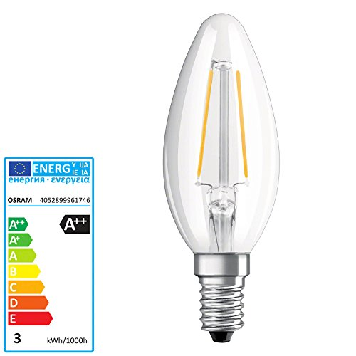 OSRAM PARATHOM LED RETROFIT CLASSIC B E14 220 240 V RETROFIT CL B25 clear filament 827 21W 250lm 270 - 40w Flood