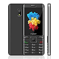 POMP Mobile Phone, 2.8-Inch SIM-Free Dual-Sim Mobile Phones With Camera Bluetooth FM Radio Big Button Easy to Use GSM Bar Feature Cell Phones