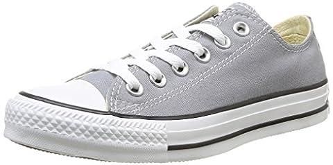 Converse Chuck Taylor All Star Ox, Unisex-Erwachsene Sneaker Grau grau 40