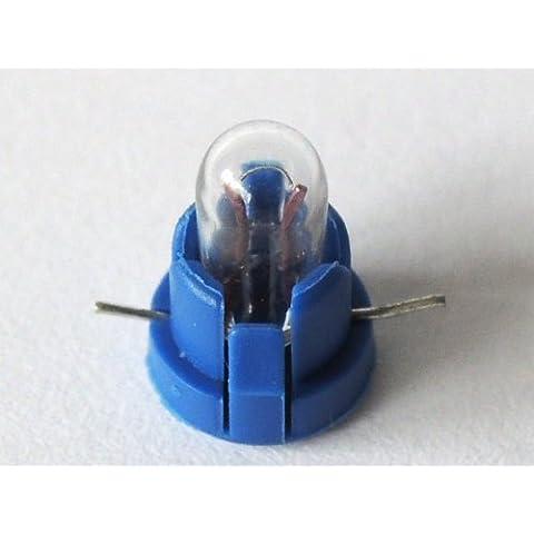 10-pc Bombilla de luz Ø 4mm Bombilla 1-9 Volt Miniatura Cuerpo de luz blanco tomas de corriente para la construcción del modelo o Sim. Modelo: LM3-10