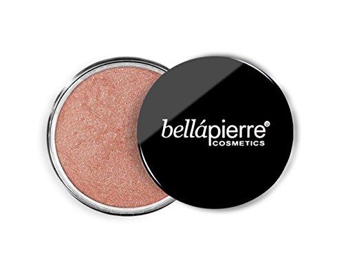 Bronze Loose Powder (Bellapiarre Cosmetics Loose Mineral Shimmery Highlighter and Bronzer Peony, 1er Pack (1 x 4 g))