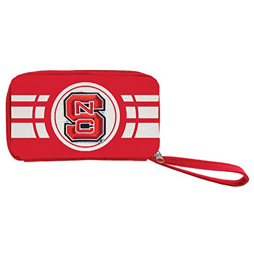 Littlearth NCAA North Carolina State Wolfpack Ripple Zip Wallet Ncsu Basketball