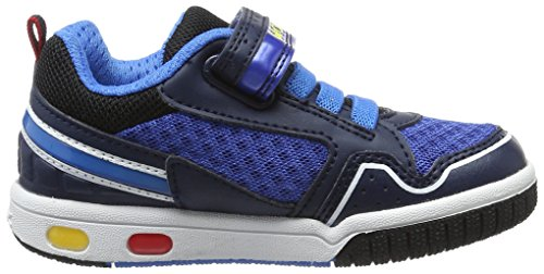 Geox Jungen Jr Gregg A Low-Top Blau (navy/lt Bluec0693)