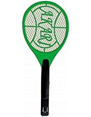 QUICK SHEL Rechargeable Insect Killer Mosquito Racket for Insects, Standard, Random Colour