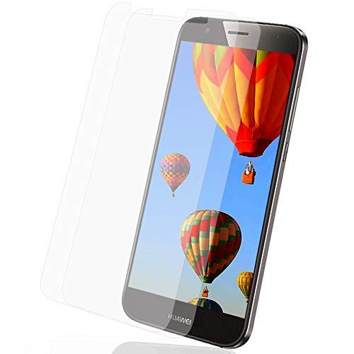 MYCASE 2X Bildschirmschutz Folie für Huawei G8 / G7 Plus   Echt Glas   0,3 mm Dünn