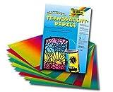 Regenbogen-Transparent- Papier 100G 51X68Cm - Liefermenge 25 Stück