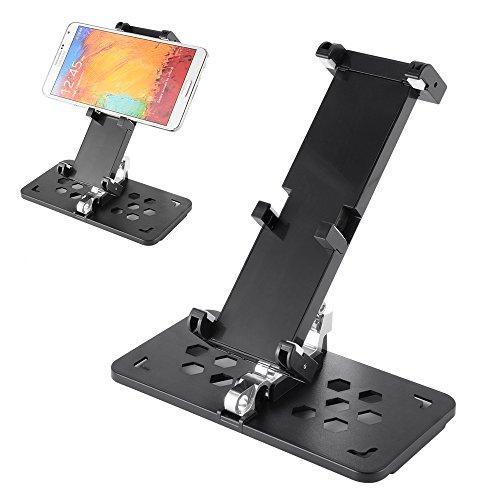 Preisvergleich Produktbild XCSOURCE® Mobile Geräte halter Smart Phone Tablet Metall halterung Faltbar für DJI MAVIC PRO Fernbedienung RC509