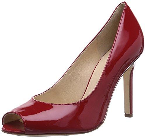 Högl 9-109304, Sandales Bout Ouvert Femme Rouge (4000)