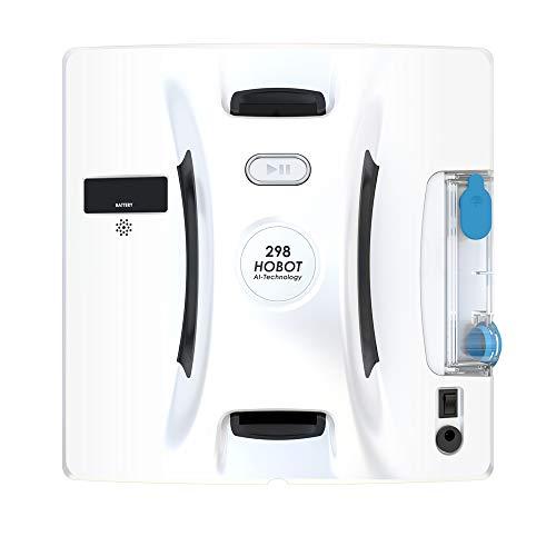 SMARTBOT - Robot lavavetri Hobot-298 con App e Serbatoio di Pulizia per vetri Integrato