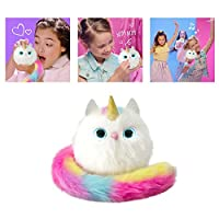 Pomsies Unicorn Plush Interactive Toys Smart Touch Induction Pet Cute Puppet for Baby Kids Teens