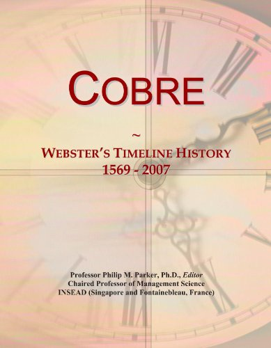 cobre-websters-timeline-history-1569-2007