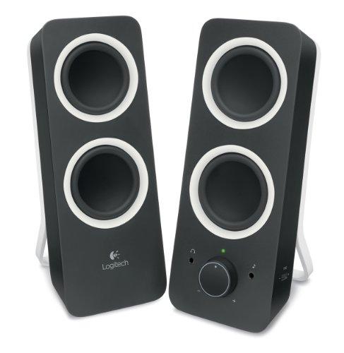 41C5H7avqSL - Logitech® Z200 Stereo Speakers - Midnight Black - 3.5 MM - N/A - EU