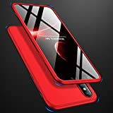 AICase Coque pour iPhone XS Max, Coque iPhone XS Max 360,Thin Fit,Ultra Fine,Antichoc...