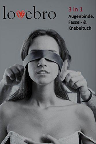 Augenbinde Sexspielzeug, Augenmaske, Geschenk-Set, Sexspielzeug für Paare, hochwertiges Satin, inkl. Knoten-Anleitung zum fesseln, Sexspielzeug Männer, Sex, Sexspielzeug für Frauen