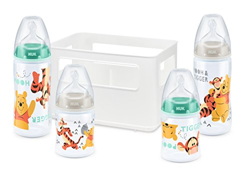 NUK First Choice+ Starter Set | Disney Mickey Mouse + Winnie Pooh