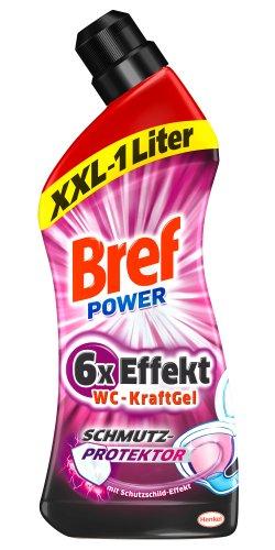 Bref Power WC-KraftGel Schmutz-Protektor, 8er Pack (8 x 1 l)