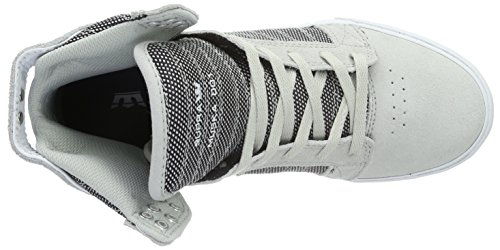 Supra - SKYTOP, Sneaker alte Unisex – Adulto Grigio (Grau (GREY VIOLET TWOTONE - WHITE GRV))