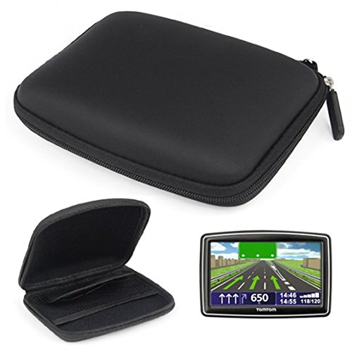 SODIAL(R) Durable 5″ In Car Sat Nav GPS Hard Case Holder Wallet For TomTom XXL IQ Routes