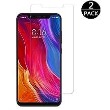 Modoca [2-Pack] Protector Pantalla Xiaomi Mi 8, Cristal Templado Xiaomi Mi