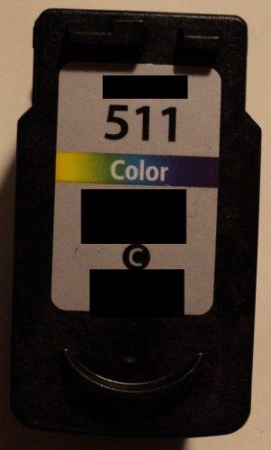 Druckerpatrone CL 511 513 Refill für Canon Drucker color iP 2700 2702 MX 320 330 340 350 360 410 420 MP 230 240 250 252 260 270 272 280 282 480 490 492 495 499