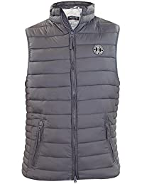 Crosshatch Boxhill Ch Gilet with Zip Dtl, Maillot de Corps Homme