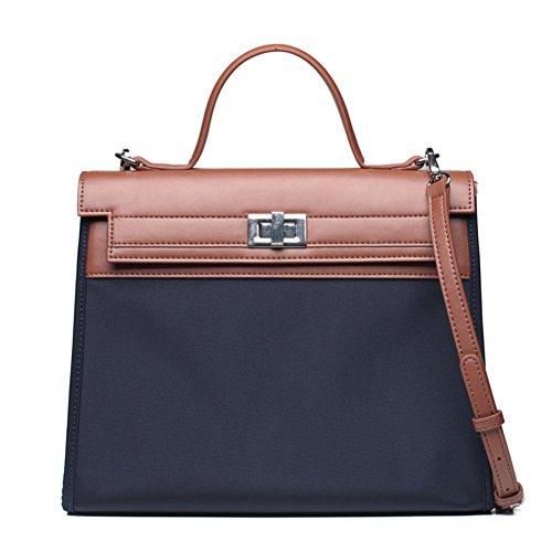 Ladies messenger bag/borsa di tela/semplice nylon oxford stoffa bump-colorato borsetta-B B