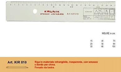 KRUNIK RIGA INFRANGIBILE 60cm.