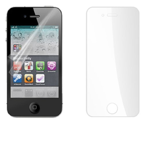 Doorzichtig, plastic folie LCD Screen Protector voor de iPhone 4G 4g Lcd Screen Protector