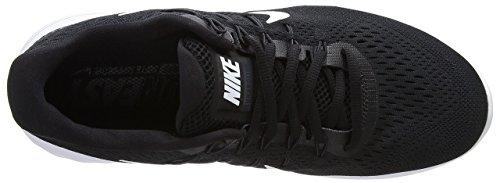 Nike Herren Lunarglide 8 Laufschuhe Black/White - Anthracite