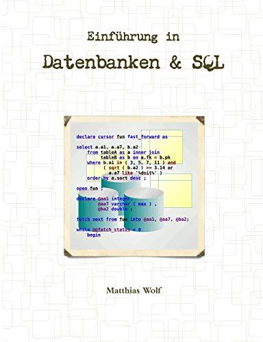 Einführung in Datenbanken & SQL