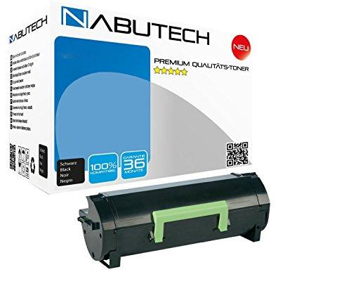 Preisvergleich Produktbild Mega Nabutech Toner für Lexmark MS 310D DN Series 312DN 315DN 410D DN Series 415DN 510DN 610DE DN DTE DTN Series, 5000 Seiten Black