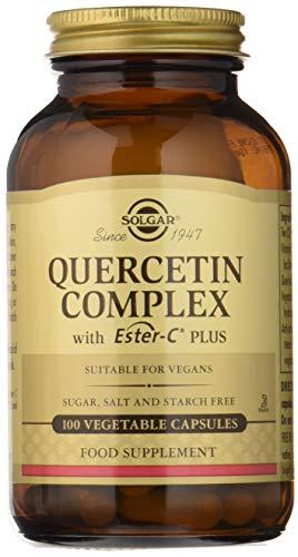 Solgar Quercitina Complex con Ester-C Plus Cápsulas vegetales - Envase de 100