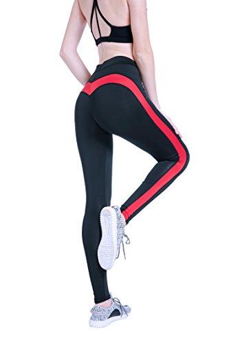 312e4de1586a XWXW Plus Size Delle Donne Leggings Di Fitness Allenamento Pantaloni A Vita  Alta Leggings Sportivi Ad