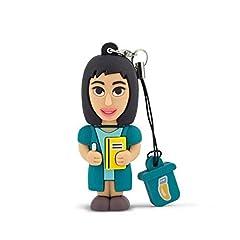 Idea Regalo - Professional Usb Insegnante Donna, Simpatiche Chiavette USB Flash Drive 2.0 Memory Stick Archiviazione Dati, Portachiavi, Pendrive 8 GB