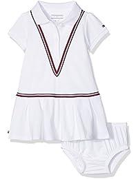 Tommy Hilfiger Sweet Polo Dress S/S, Vestido para Bebés